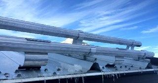 Монтаж снегозадержателей Йошкар-Ола цена от 848 руб.